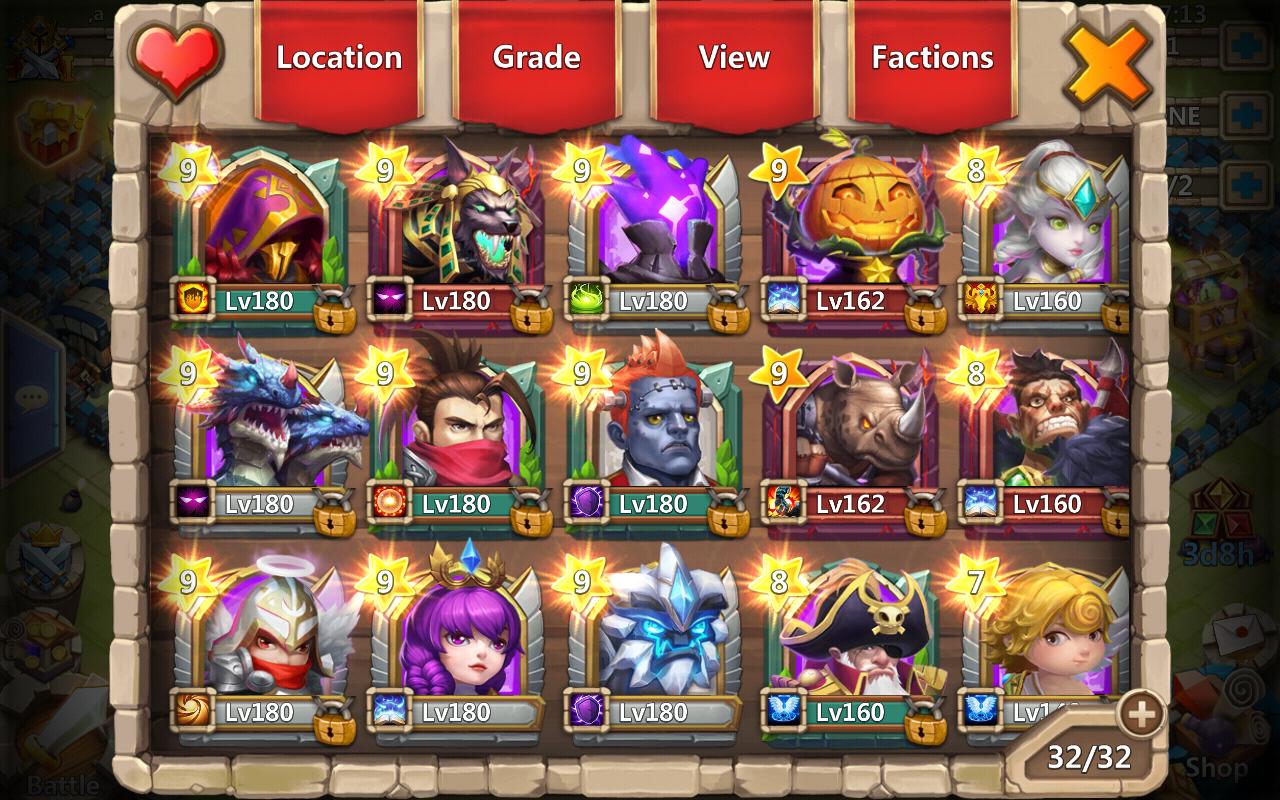 Castle Clash Guild Royale